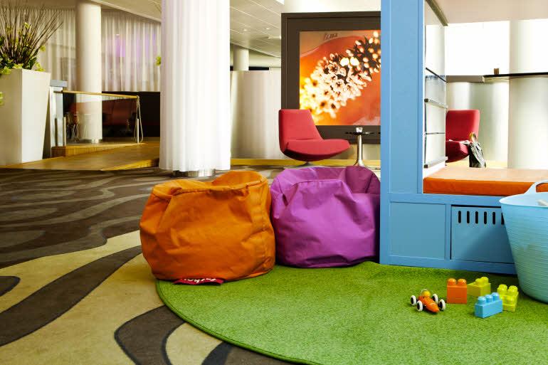 Scandic Hamar Lekrum för Barn i lobbyn