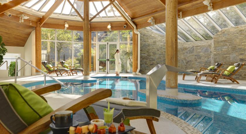 Sheen Falls Lodge swimming pool