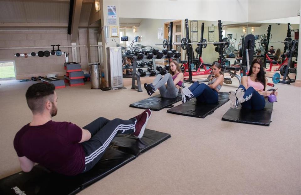 Castlerosse Holiday Homes Gym
