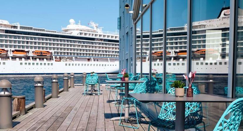 Thon Hotel Kristiansund Uteservering