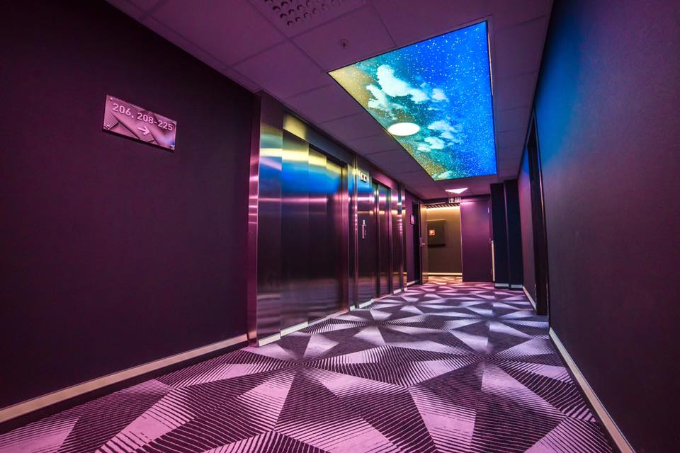 Magic Hotel Solheimsviken Korridor