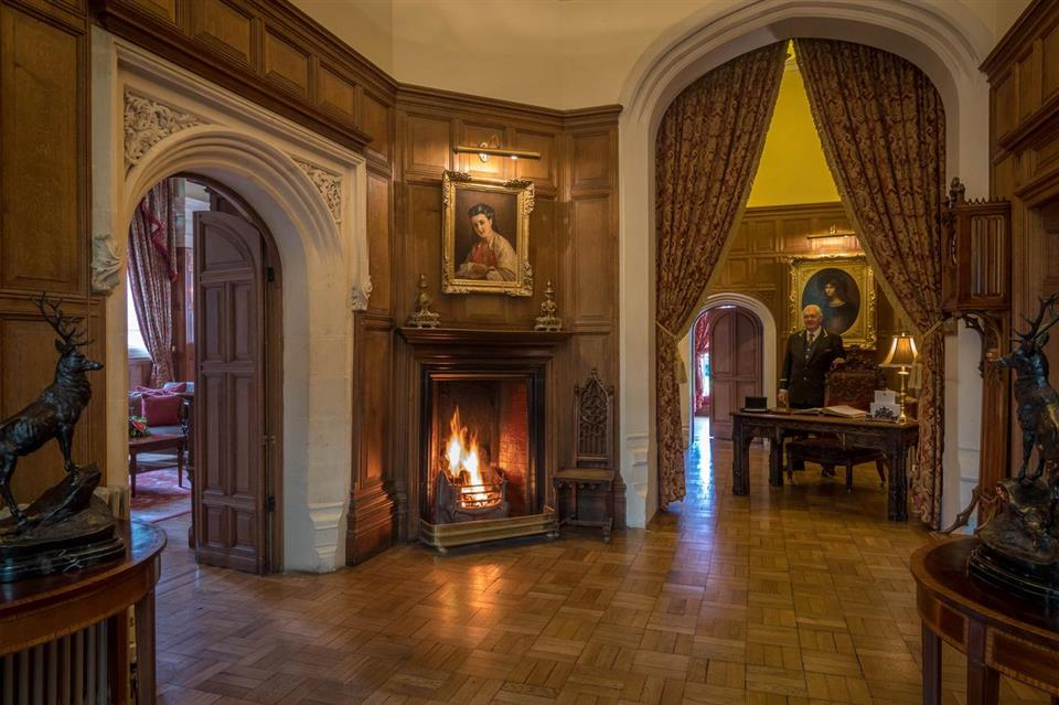 Lough Rynn Castle Hotel Interior