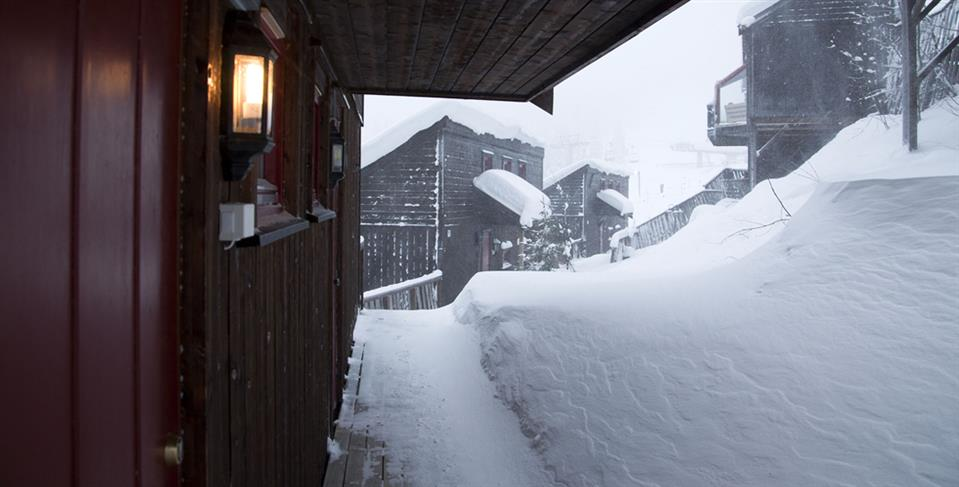 Kvitfjell Hotel AS Snö