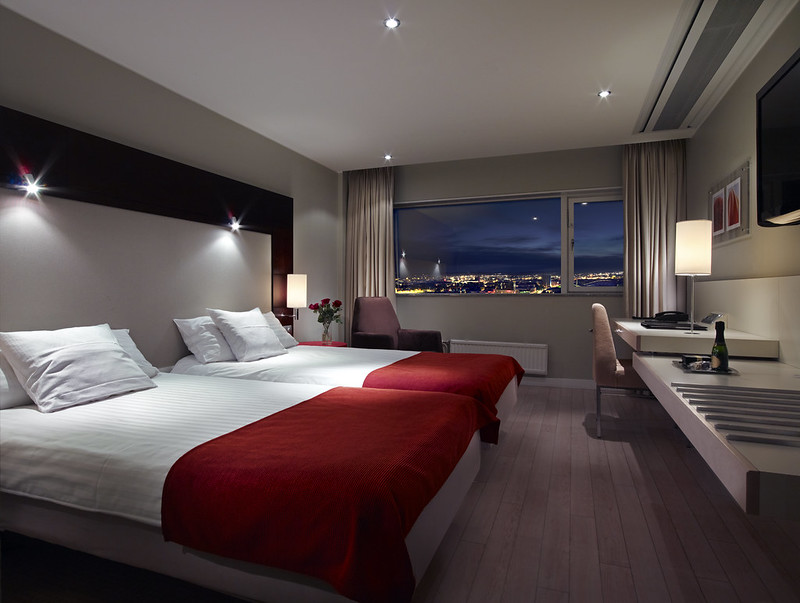 Gothia Towers Hotel Double Room with twin beds