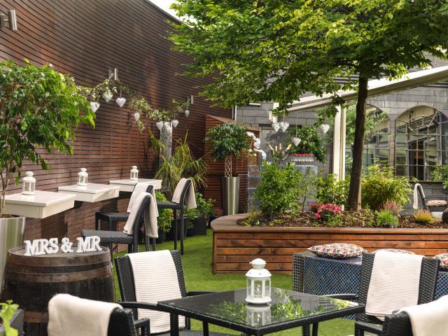 Limerick Strand Hotel Secret Garden