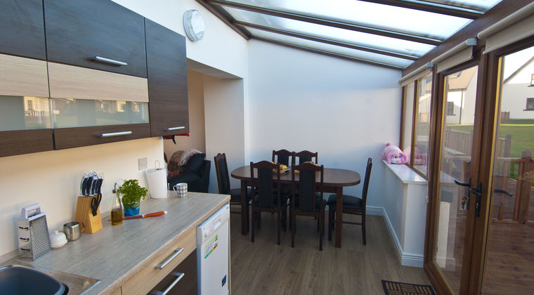 Hookless Holiday Homes kitchen