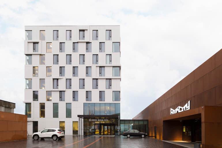 Scandic Rock City Hotel Fasad