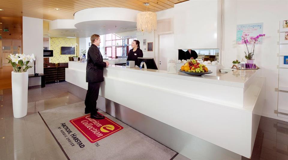 Clarion Collection Hotel Arcticus Reception