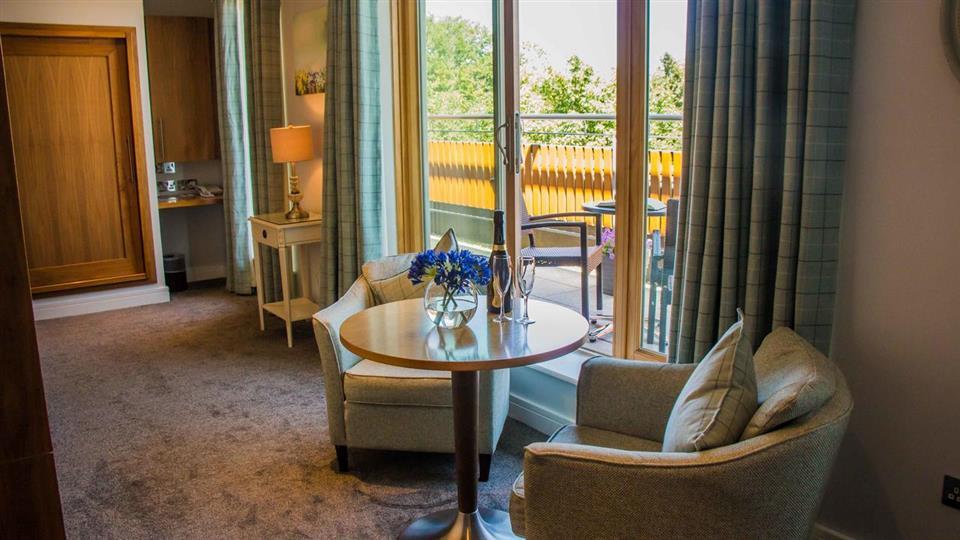 Manor west hotel upgrade deluxe Bedroom