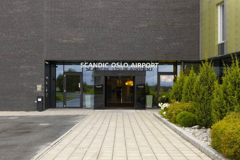 Scandic Oslo Airport Entré