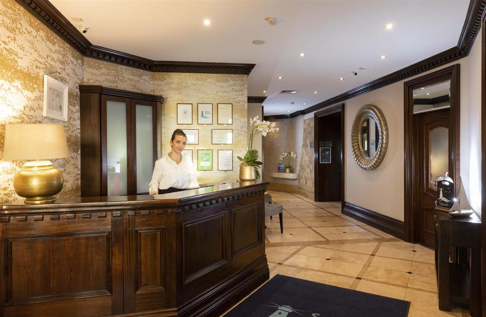 Schull Harbour Hotel Reception