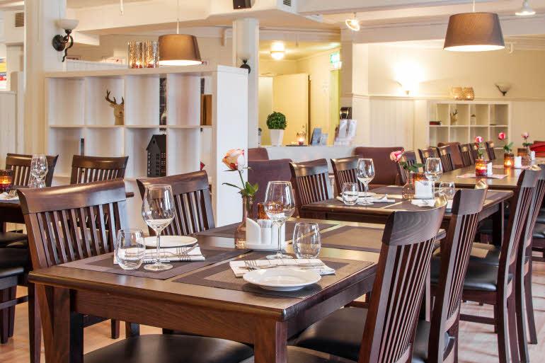 Scandic Leknes Lofoten Hotell Restaurang