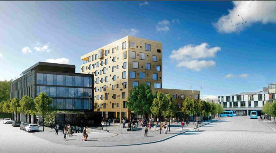 Comfort Hotel Porsgrunn Fasad