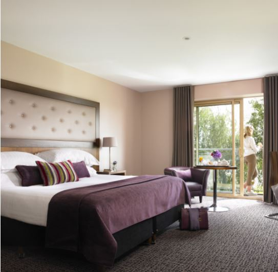 Dunboyne Castle Hotel & Spa Double Bedroom with Balcony