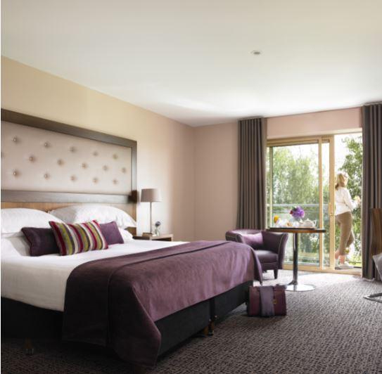 Dunboyne Castle Hotel & Spa Double Bedroom with Balcony