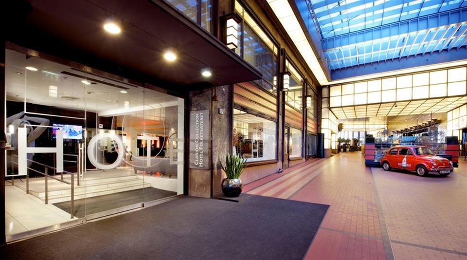 Clarion Collection Hotel Folketeateret Entré