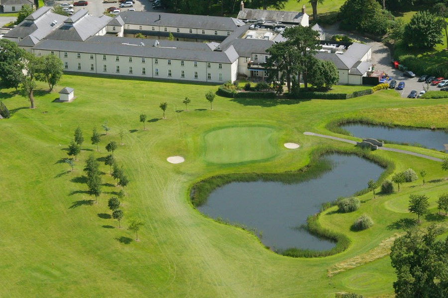 Roganstown Hotel Golf & Country Club Ariel View