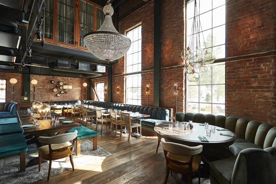 The Steam Hotel Restaurang