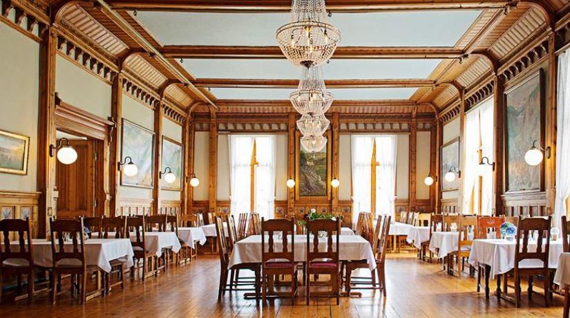 Thon Hotel Sandven Matsal