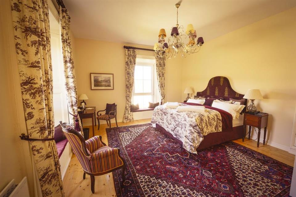 Screebe House Deluxe Room