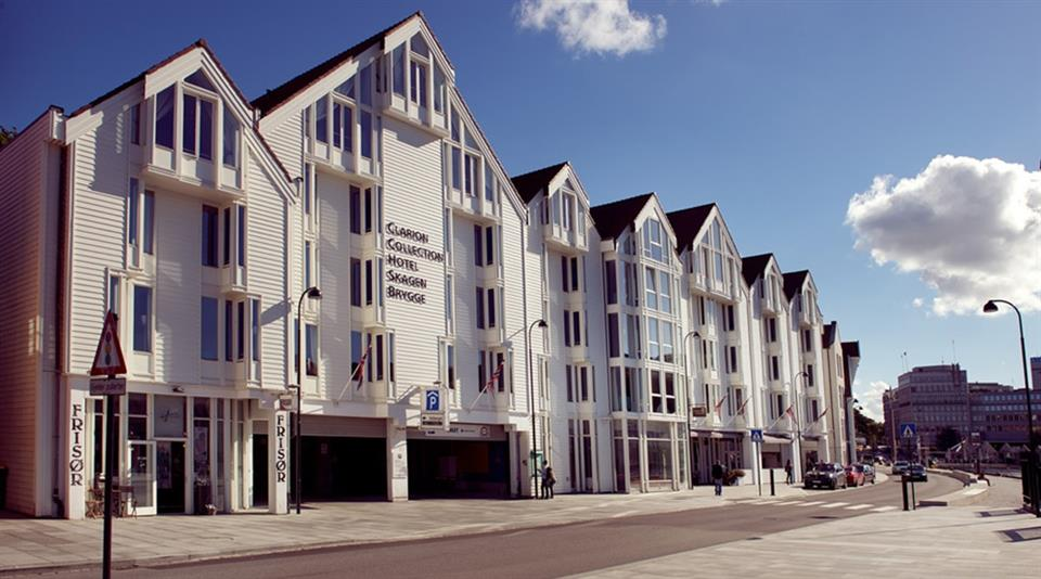 Clarion Collection Hotel Skagen Brygge Fasad