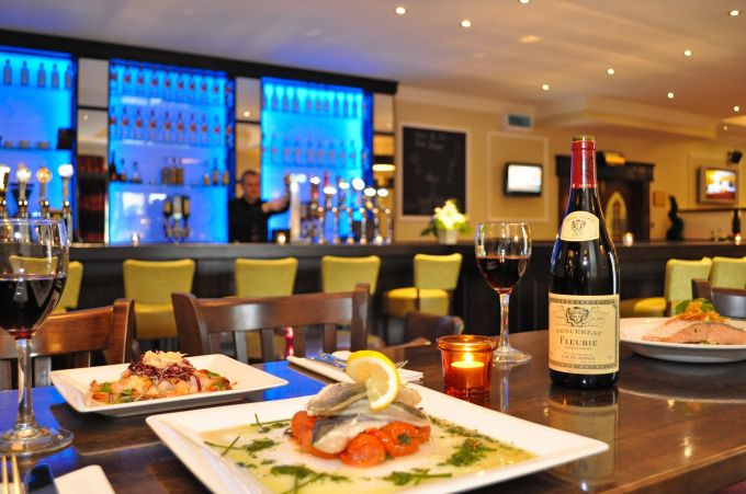 Menlo Park Hotel Restaurant