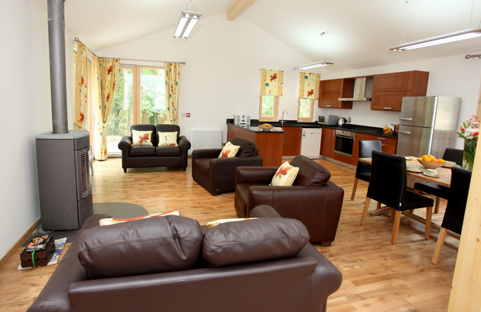 Ballyhoura Forest Luxury Homes Sitting Room