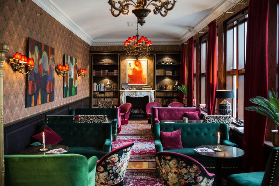 Hôtel Eggers Lounge
