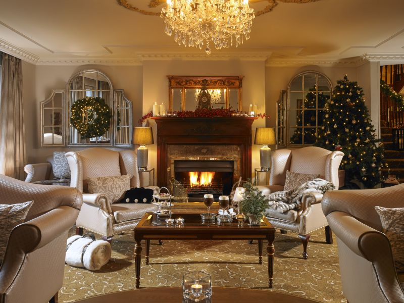 Killarney royal hotel lounge christmas