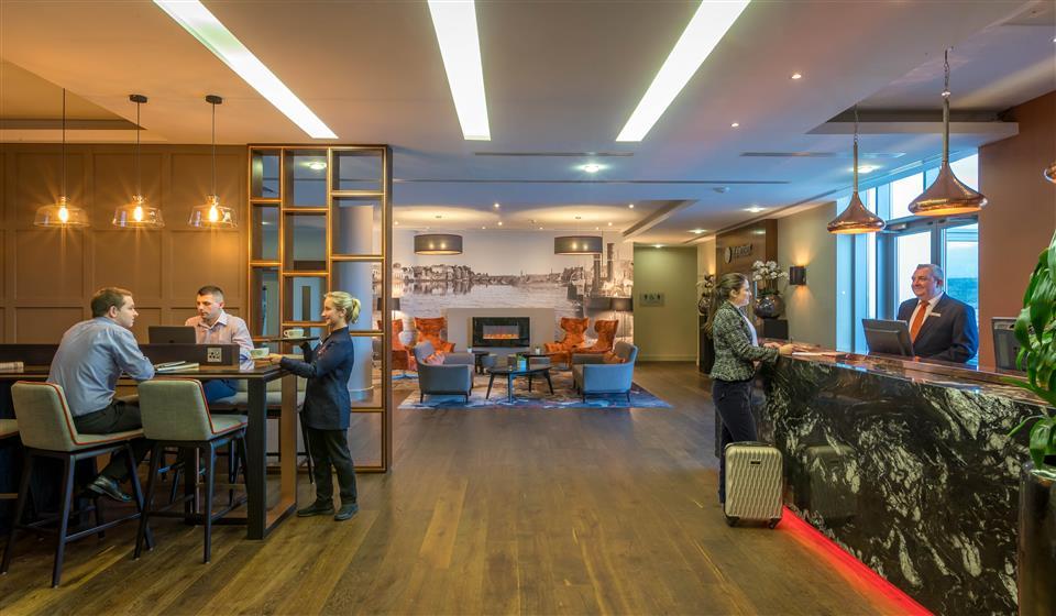 Clayton Hotel Limerick Reception & Lobby