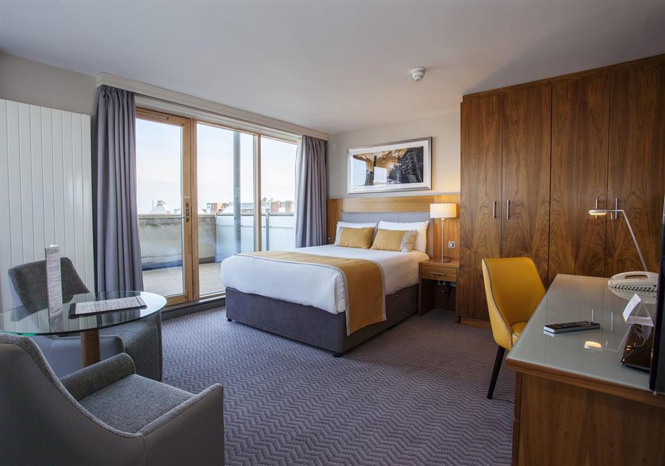 Maldron Hotel Smithfield Balcony View Room