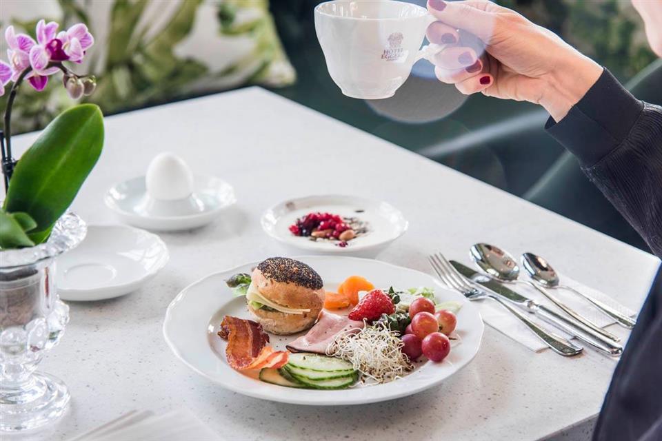 Hôtel Eggers Frukost