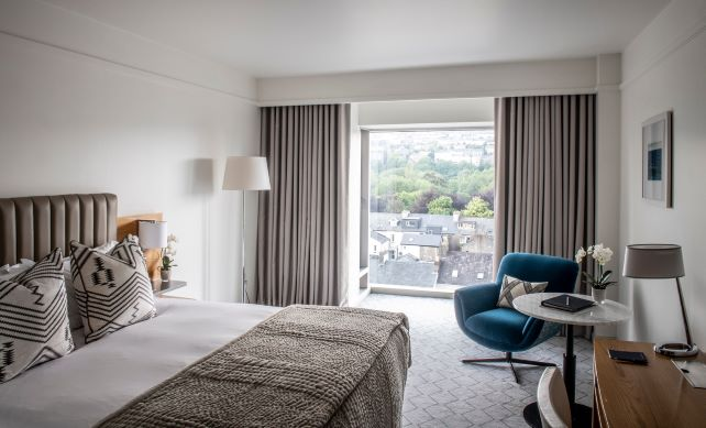 The River Lee Hotel Deluxe Bedroom