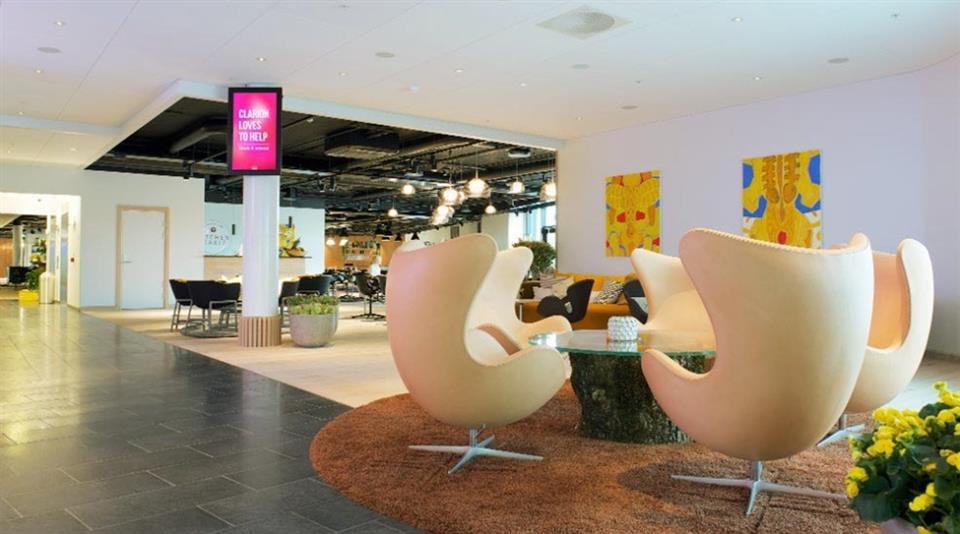 Clarion Hotel Energy Lobby