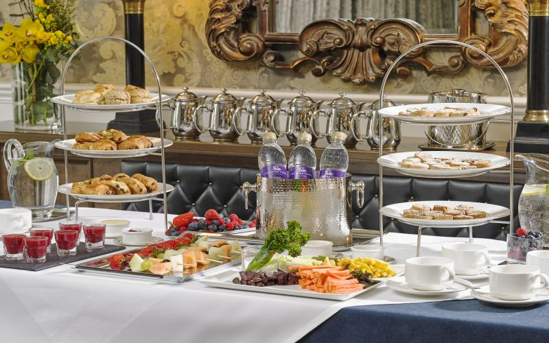 The Rose Hotel & Spa Breakfast