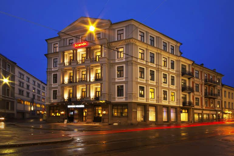 Scandic Holberg Hotel Fasad