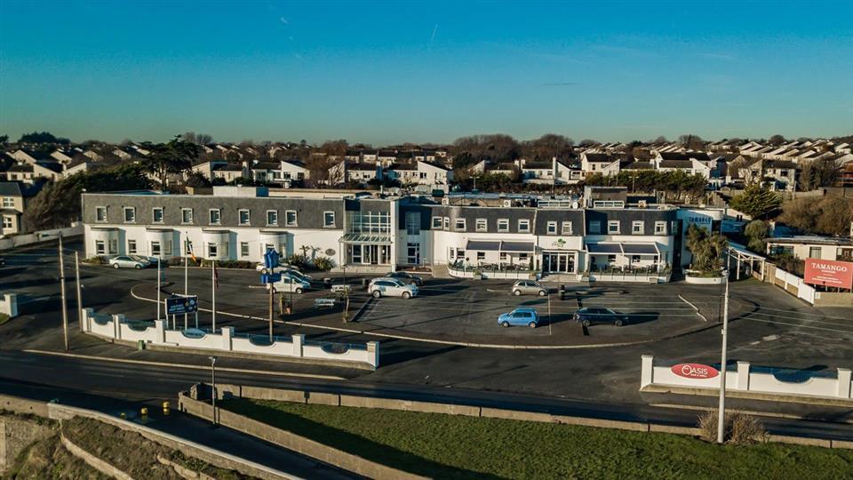 White Sands Hotel Ariel View