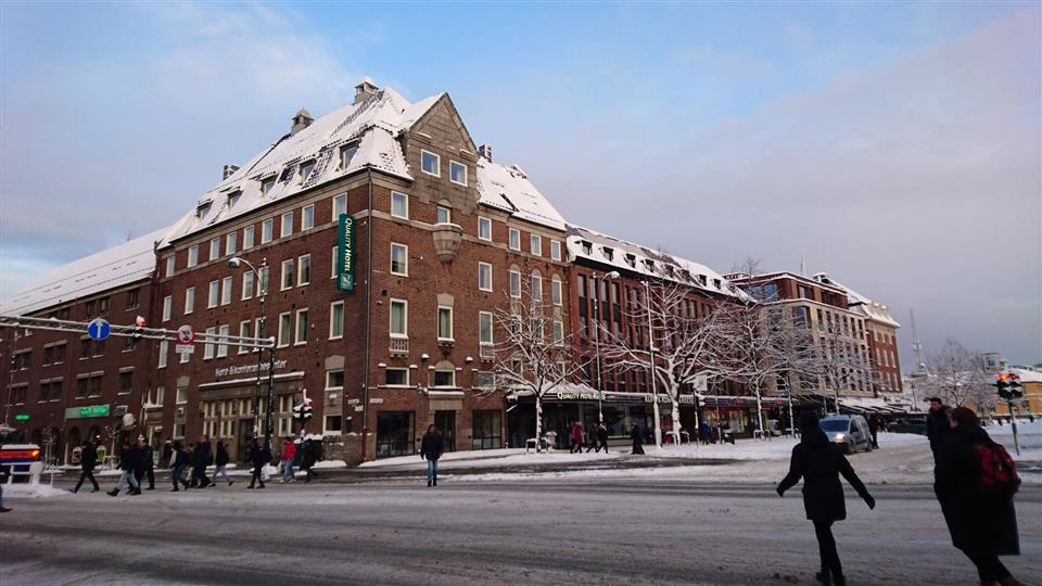 Quality Hotel Augustin Fasad