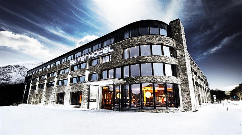 Quality Hotel Skifer Fasad