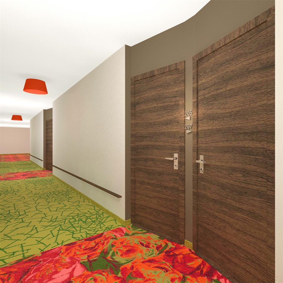 Hotel Nacka Korridor