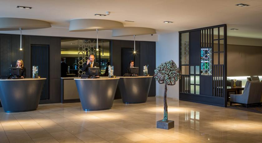 Maldron Hotel Dublin Airport Reception