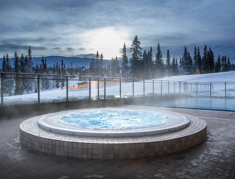 Radisson Blu Mountain Resort & Residences Utomhusjacuzzi