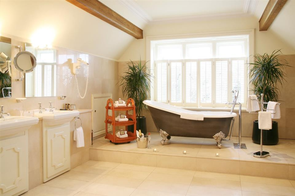 Lough Rynn Castle Bathroom