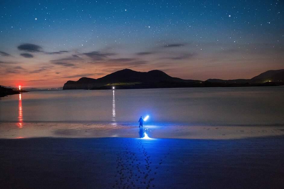 Glanleam Beach, Valentia Island 'Dark Skies'