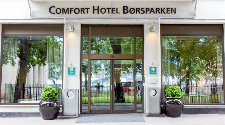 Comfort Hotel Børsparken Fasad