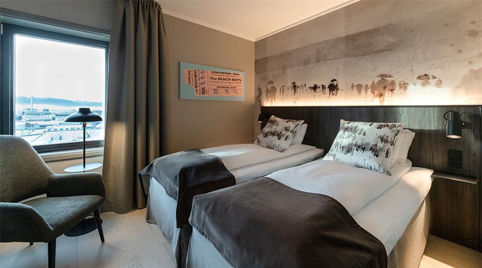 Quality Hotel Panorama (Trondheim) Twin Room