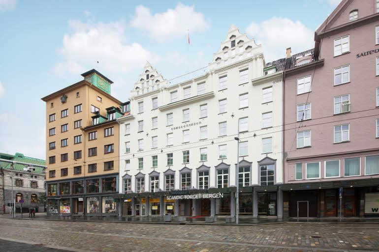 Scandic Torget Bergen Fasad