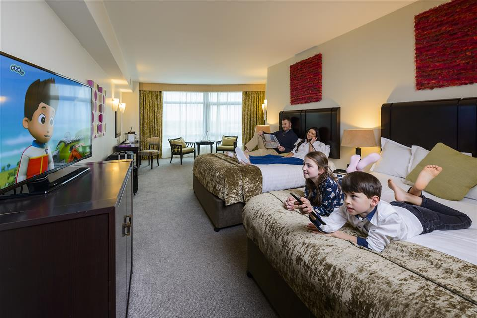 Cork International Hotel Family Room