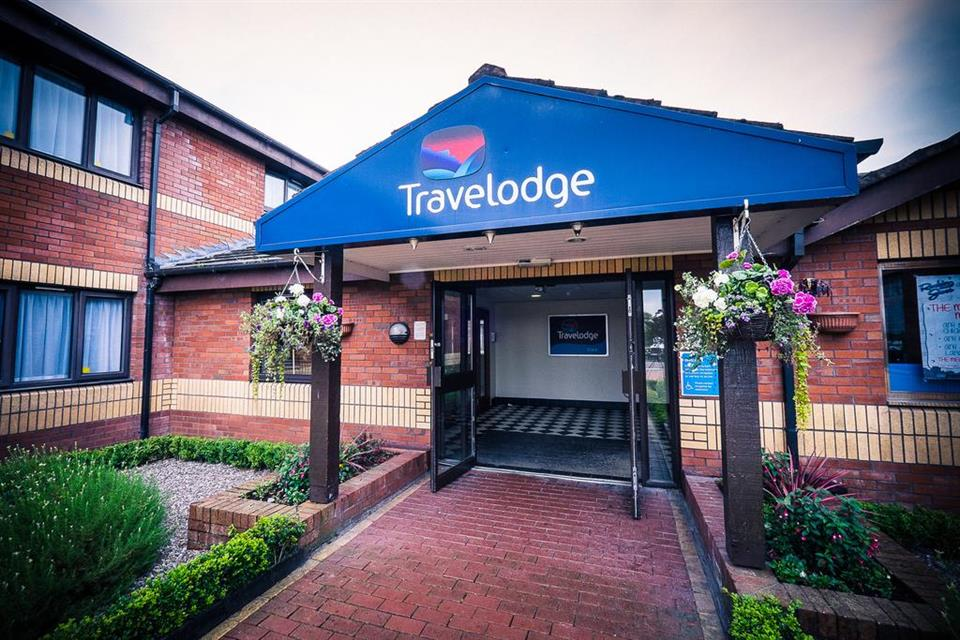 Travelodge Cork - Entrance