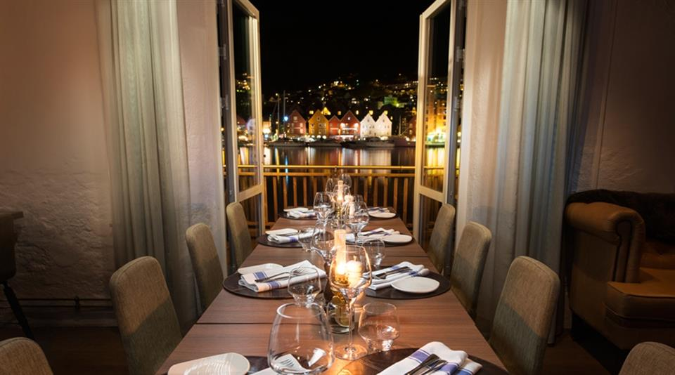 Clarion Hotel Admiral Middag med utsikt